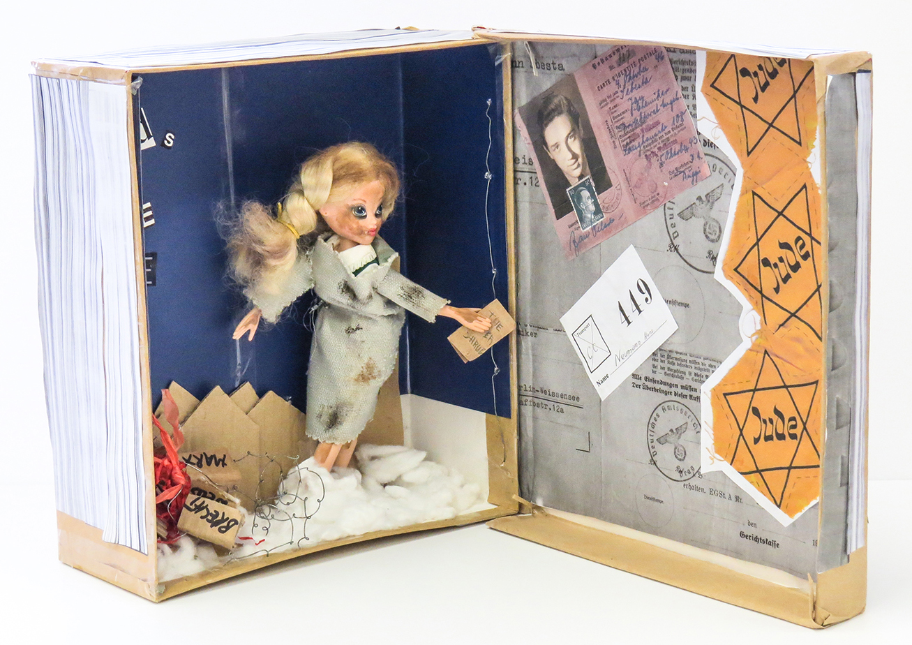the book thief trinity schools book award tsba bookthief diorama open